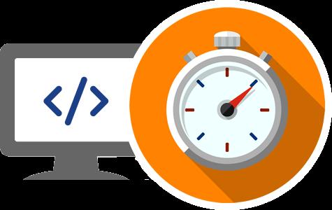 Webpage speed test